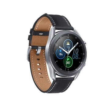 三星SAMSUNG Galaxy Watch3 45mm 智慧型手錶 不鏽鋼/星幻銀