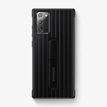 三星SAMSUNG Note20 原廠立架式保護皮套 黑