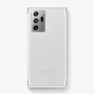 三星SAMSUNG Note20 Ultra 原廠透明防撞背蓋 白