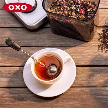 美國OXO 好好泡旋轉濾茶球