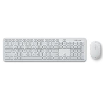 Microsoft 精巧藍芽鍵鼠組-月光灰