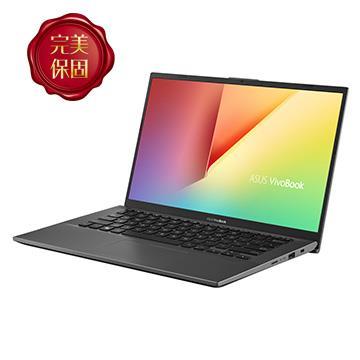【改裝機】華碩ASUS Vivobook 14 筆電 灰(i3-10110U/4G+4G/128G/W10H)