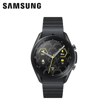 三星SAMSUNG Galaxy Watch3 45mm (藍牙)鈦金屬 鈦金黑