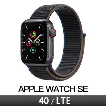 Apple Watch SE LTE 40/灰鋁/木炭運動錶環