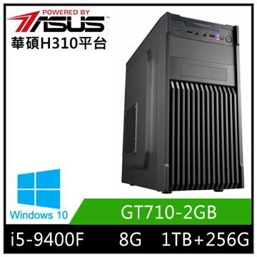 華碩平台[炎武鬥士]i5六核Win10獨顯SSD電腦