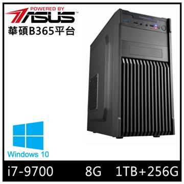 華碩平台[炎武勇士]i7八核Win10效能SSD電腦