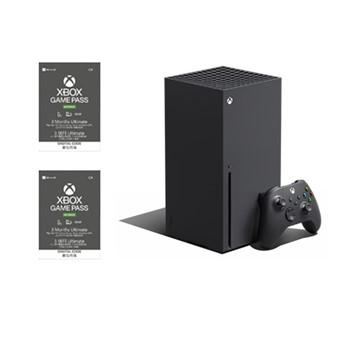 (組合)Xbox Series X主機 + Xbox Game Pass Ultimate 3個月 實體卡 2張