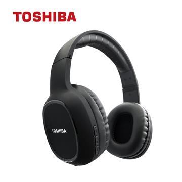 TOSHIBA東芝 頭戴式藍牙耳機-黑