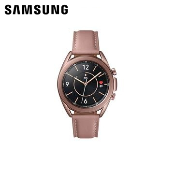 三星SAMSUNG Galaxy Watch3 LTE 41mm 星霧金 SM-R855FZDABRI