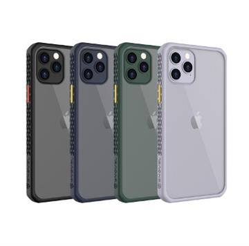 GNOVEL iPhone12 Pro Max透明背蓋保護殼-藍 Mirror Armour 6.7 BL
