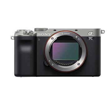 索尼SONY ILCE-7C/S 可交換式鏡頭相機 銀 BODY