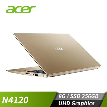 ACER宏碁 Swift 1 筆記型電腦(N4120/8GB/256GB)