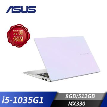 ASUS華碩 VivoBook 14 筆記型電腦(i5-1035G1/8GB/MX330/512GB)