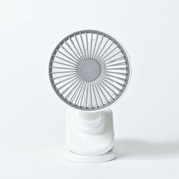 ROOMMI 3D小旋風迷你夾扇 3段檔速 可擺頭