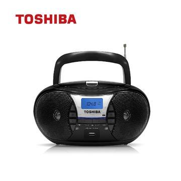 TOSHIBA USB/CD手提收音機 黑