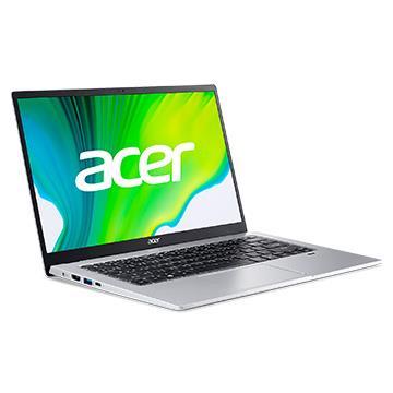 宏碁ACER Swift 1 筆記型電腦 銀(N4120/4GD4/256G/W10)