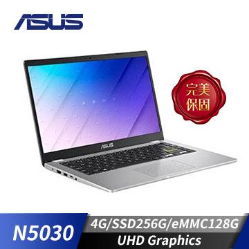 【改裝機】華碩ASUS Laptop 筆記型電腦 白(N5030/4G/128+256G/W10)