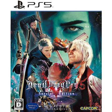 PS5 惡魔獵人5 特別中文版
