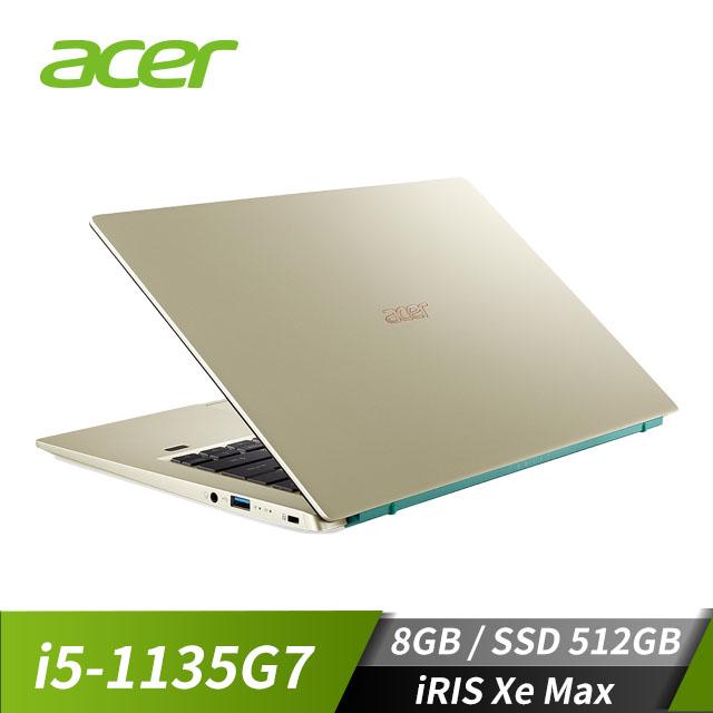 ACER宏碁 Swift 3 筆記型電腦(i5-1135G7/iRIS Xe Max/8GB/512GB)