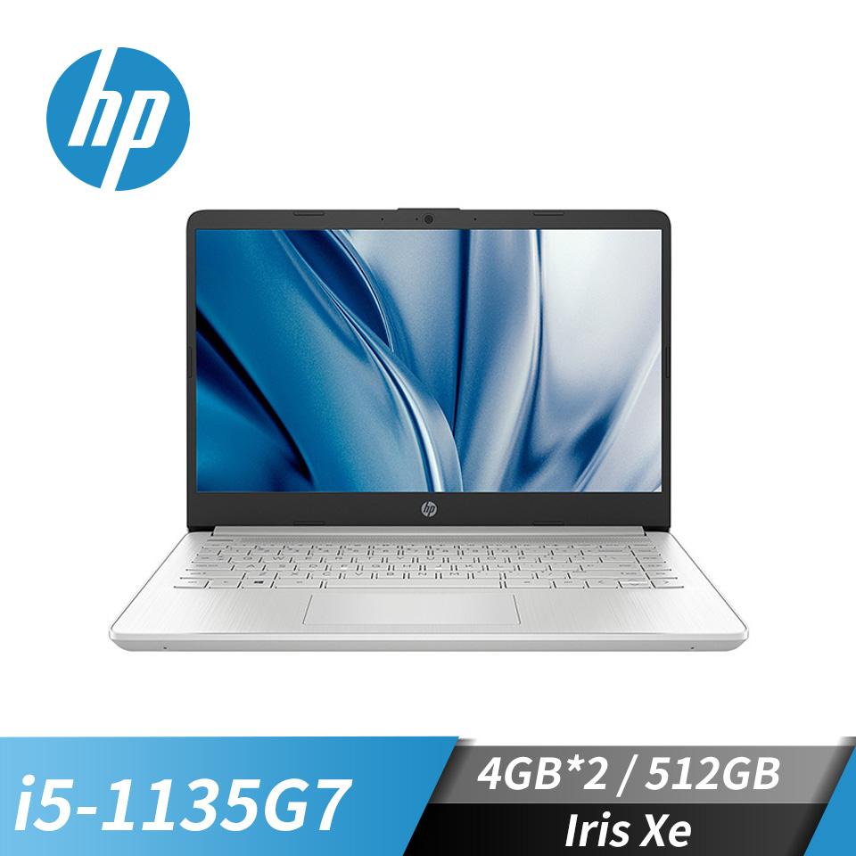 HP惠普 14s超品 筆記型電腦(i5-1135G7/Iris Xe/4GB*2/512GB)