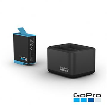 GoPro HERO9專用雙電池充電器+電池