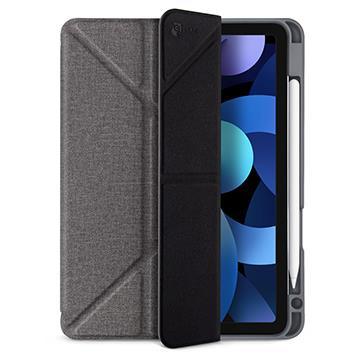 JTLEGEND iPad Air 10.9吋折疊筆槽皮套-灰