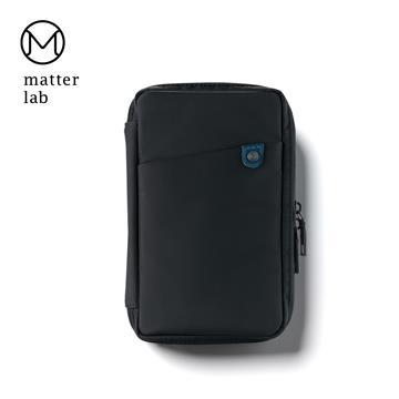 Matter Lab Urban 雙層配件線材收納包-墨黑