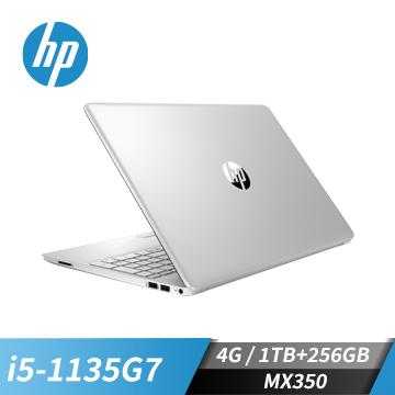 HP惠普 15s超品 筆記型電腦(i5-1135G7/MX350/4GB/256GB+1TB)