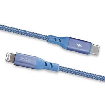 Tengwei MFI快充線 Type-C to Lightning-藍