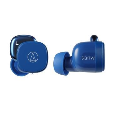 Audio-Technica鐵三角 真無線耳機-藍