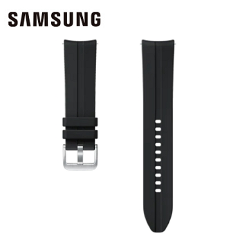 SAMSUNG Watch3 22mm 潮流運動錶帶 黑