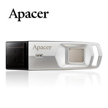 Apacer宇瞻 64G指紋防護隨身碟