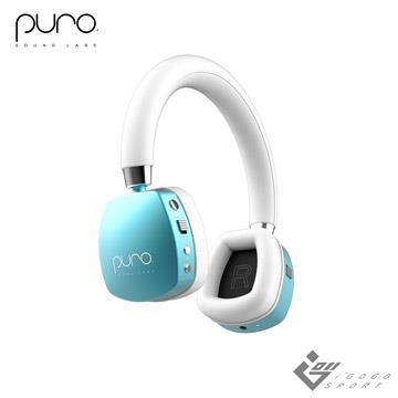 Puro Quiets 降噪無線兒童耳機-薄荷藍