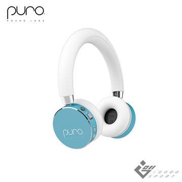 Puro BT2200s無線兒童耳機-薄荷藍