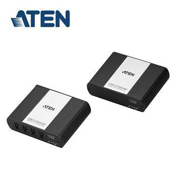 ATEN UEH4102 USB2.0 4埠傳輸100M延長器
