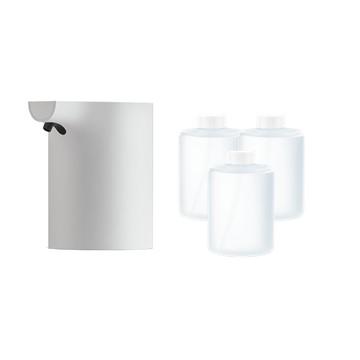 (防疫組合)米家自動感應洗手機(白色)+小衛質品泡沫洗手液(三瓶裝)
