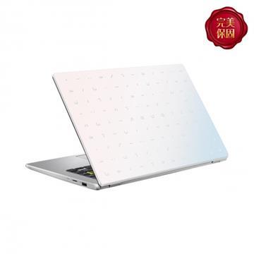 華碩ASUS Laptop E410MA 筆記型電腦-夢幻白(N5030/4G/128G/W10H)