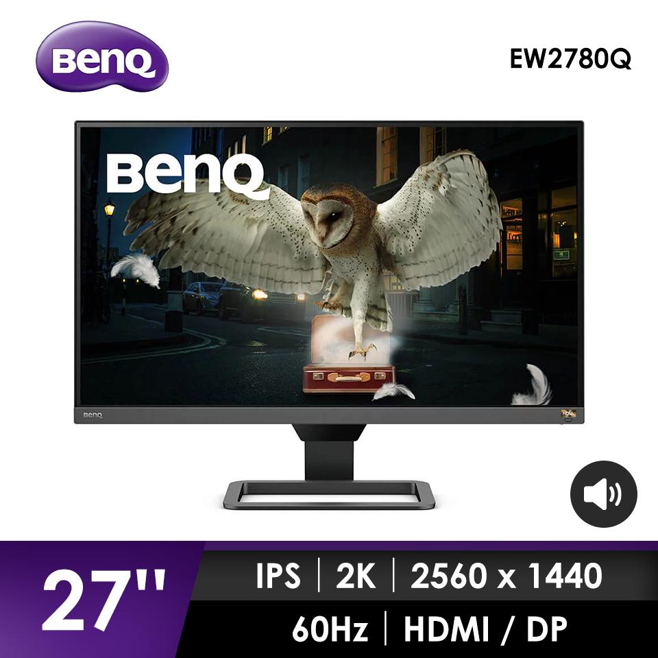 BenQ EW2780Q 27吋2K HDRi類瞳孔顯示器