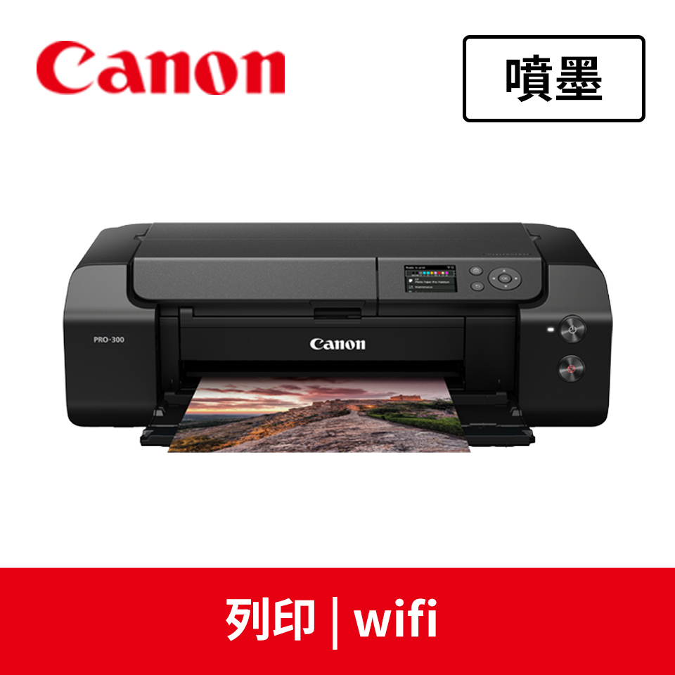 佳能Canon PRO-300專業相片印表機