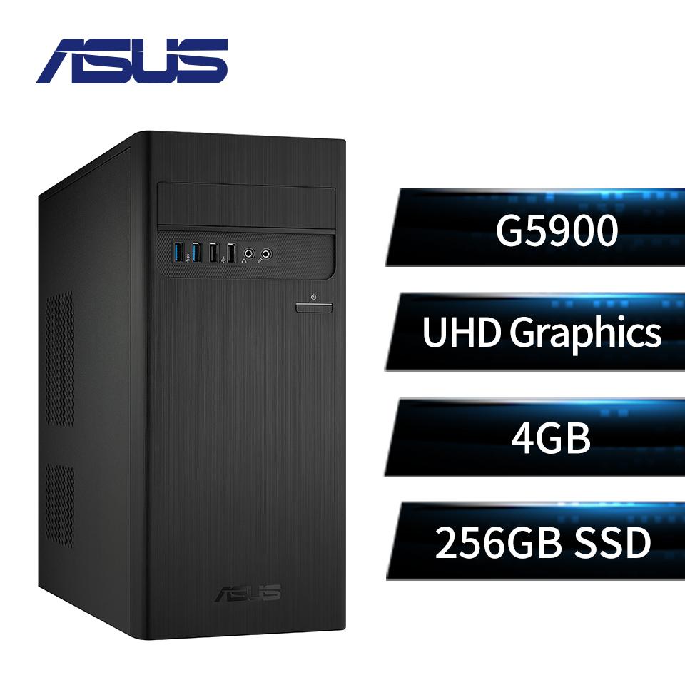 華碩ASUS 雙核心高效 桌上型主機(G5900/UHD Graphics/4GB/256GB)