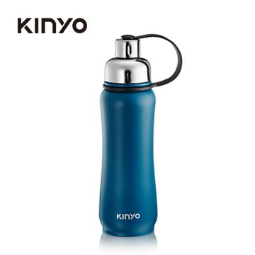 耐嘉KINYO 304不鏽鋼500ml保溫運動水壺