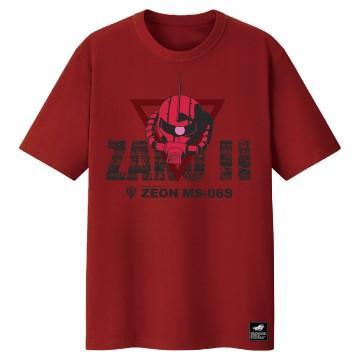 華碩 鋼彈聯名T-Shirt-紅(L)