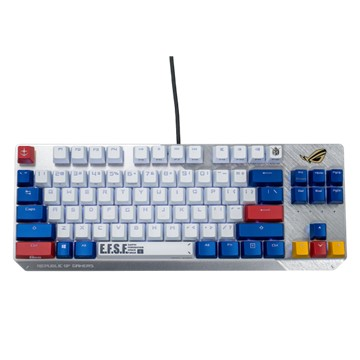(鋼彈限量版)華碩ASUS ROG SCOPE TKL 鍵盤