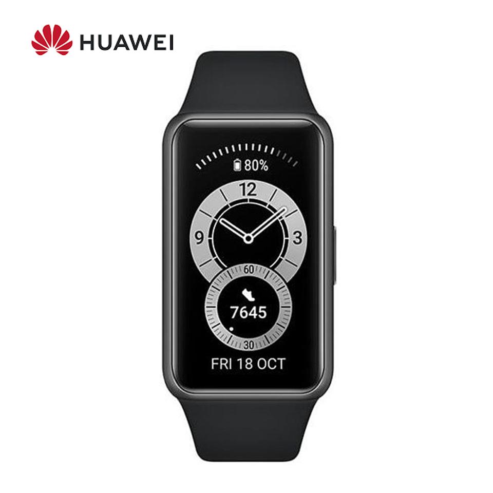 華為HUAWEI Band 6 智慧手環 (曜石黑) ☆可偵測心率血氧