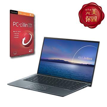 [附PC防毒]華碩ASUS Zenbook 14 筆記型電腦(i7-1165G7/16G/1T/MX450/W10)