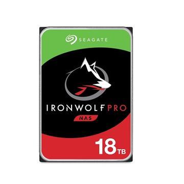 Seagate【IronWolf Pro】3.5吋18TB NAS硬碟