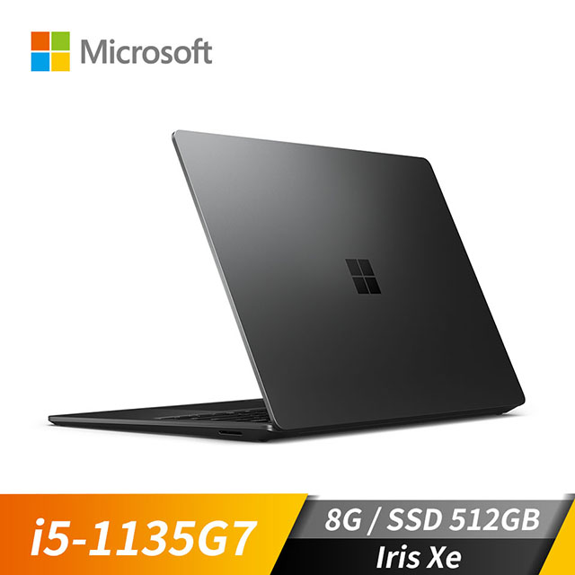 微軟Microsoft Surface Laptop4 霧黑色(i5-1135G7/Iris Xe/8GB/512GB SSD/13.5吋)