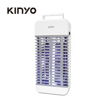 KINYO 雙風扇吸入電擊捕蚊燈