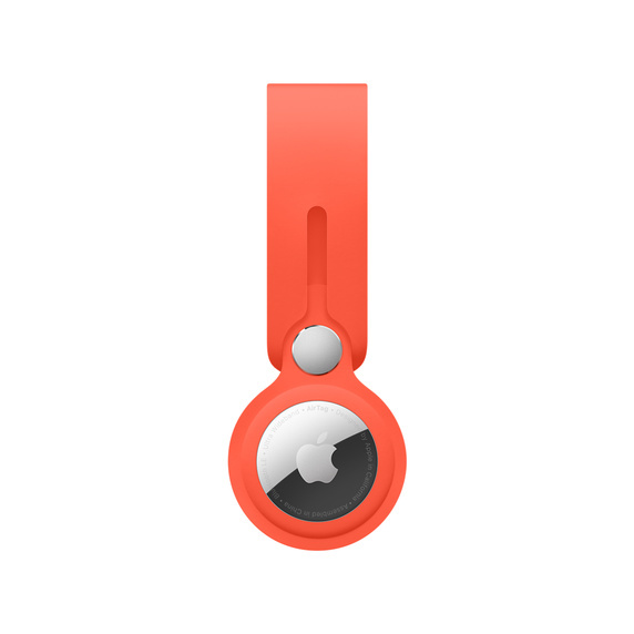 AirTag 掛環 電光橙色