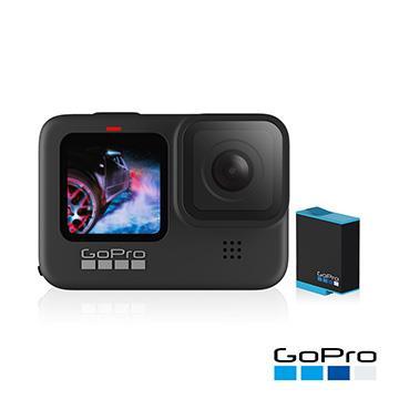 GoPro HERO9 Black 攝影機+電池